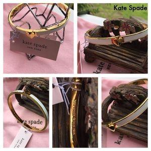 Kate Spade Gold-Tone Bangle Bracelet! NWT 🌹🌹🌹